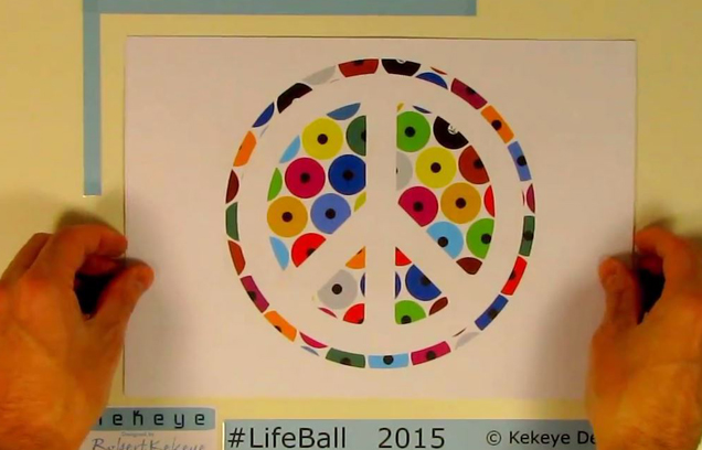 Kekeye Design Projekt Video Lifeball 2015, Wien, Österreich, Video, Video Präsentation, YouTube, Kekeye, Marketing, Kekeye Design, Lifeball, Firmenpräsentation, Präsentation, Werbung, Dots, Dots Design, Design, Grafikdesign, Grafik